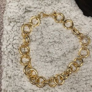 Gold JCrew Chain Necklace